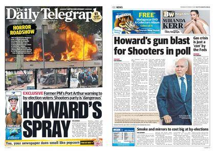 The Daily Telegraph (Sydney) – October 12, 2017
