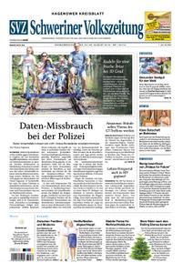 Schweriner Volkszeitung Hagenower Kreisblatt - 24. August 2019