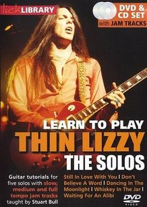 Learn to play Thin Lizzy - The Solos [repost]
