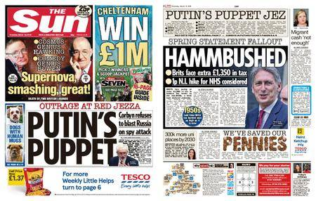 The Sun UK – 15 March 2018