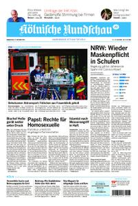 Kölnische Rundschau Wipperfürth/Lindlar – 22. Oktober 2020