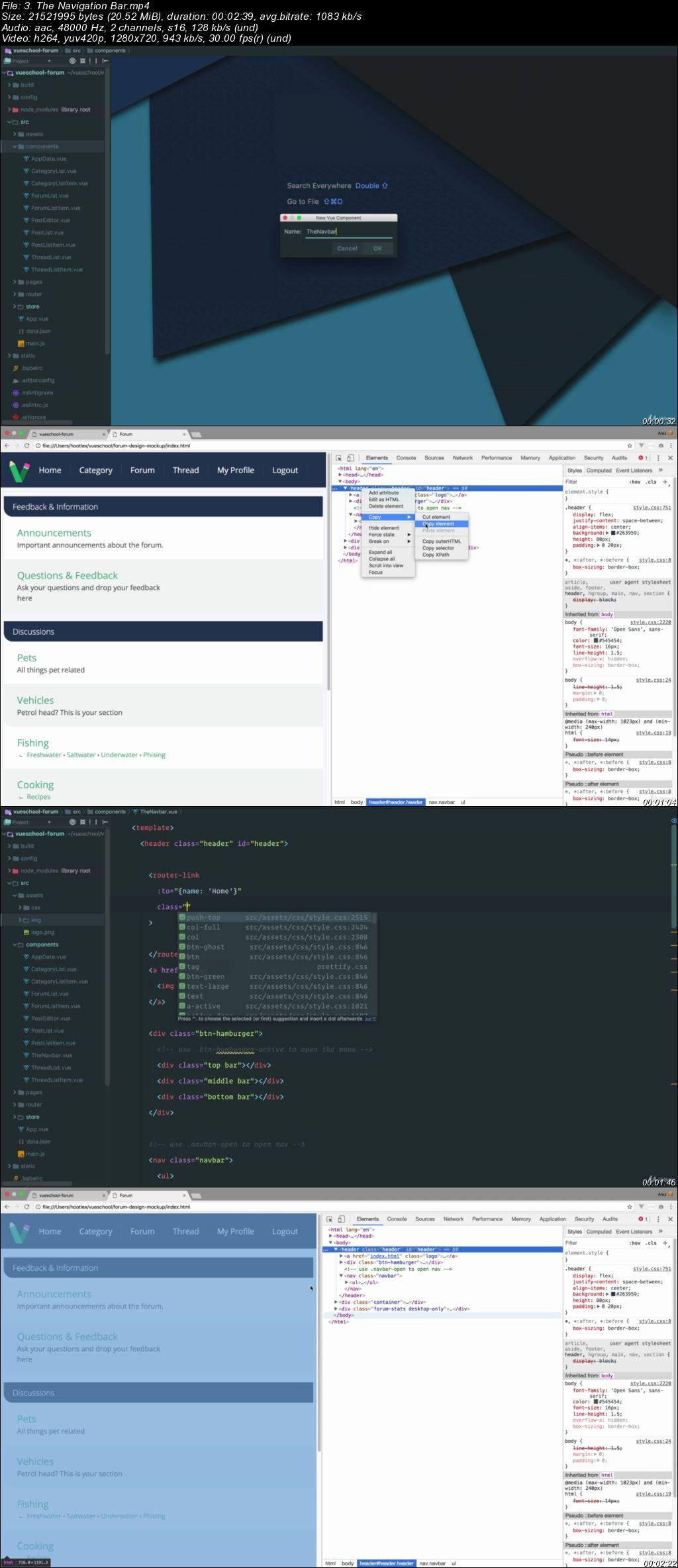 VUE JS 2 Awesome™ Course - Make an App with VUEX & Firebase