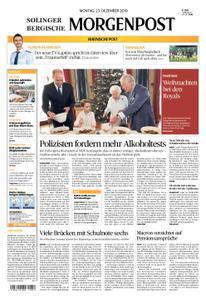 Solinger Morgenpost – 23. Dezember 2019