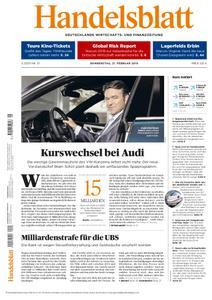 Handelsblatt - 21. Februar 2019