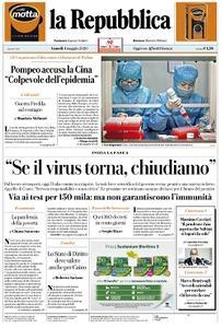 la Repubblica - 4 Maggio 2020