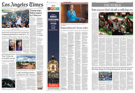 Los Angeles Times – October 04, 2019