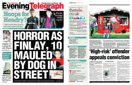 Evening Telegraph First Edition – December 06, 2017