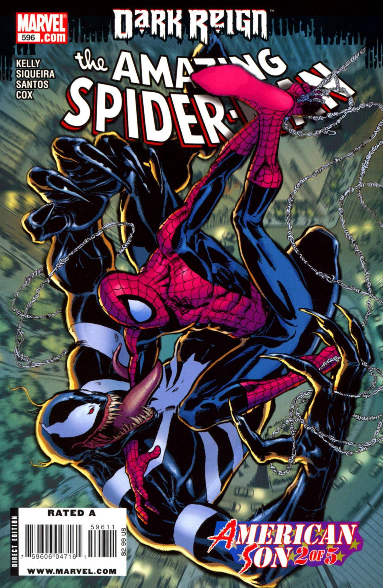 Spider-Man [4760] Amazing Spider-Man 596