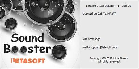 Letasoft Sound Booster 1.4 Build 205 Portable