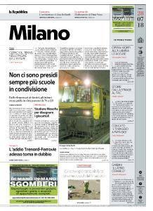 la Repubblica Milano - 28 Luglio 2018