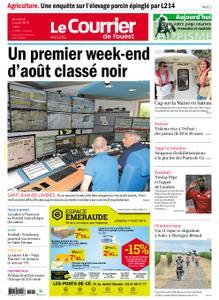 Le Courrier de l'Ouest Angers – 02 août 2019