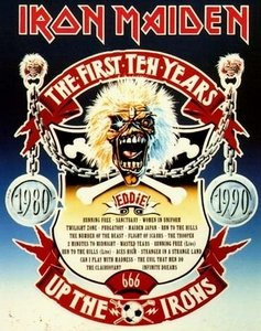 Iron Maiden - The First Ten Years (1990) (10 CD Maxi-Single, Limited Edition) RESTORED