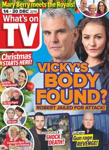 What's on TV - 14 December 2019
