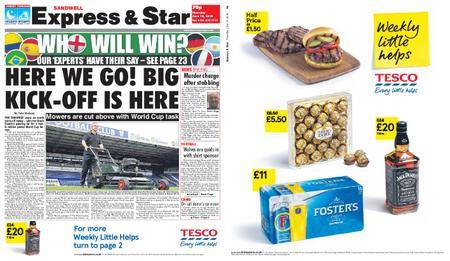 Express and Star Sandwell Edition – June 14, 2018