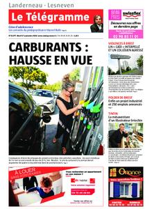 Le Télégramme Landerneau - Lesneven – 17 septembre 2019