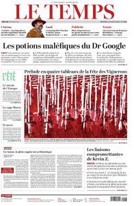 Le Temps - 10 juillet 2019