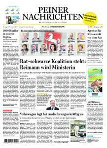Peiner Nachrichten - 17. November 2017
