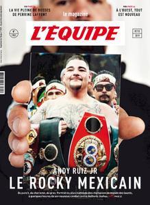L'Equipe Magazine - 7 Décembre 2019