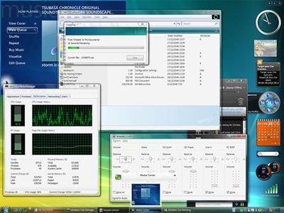 Vista Transformation Pack 7.1 for Xp