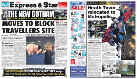 Express and Star City Edition – October 08, 2019