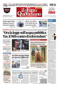 Il Fatto Quotidiano - 14 gennaio 2019