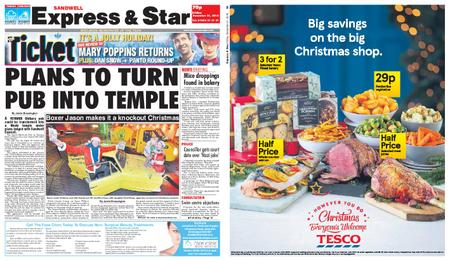 Express and Star Sandwell Edition – December 21, 2018