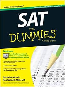 SAT For Dummies, with Online Practice Tests, 9th Edition (repost)