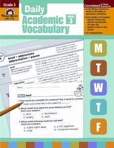 Daily Academic Vocabulary, Grade 3