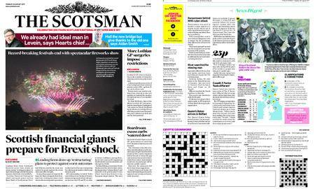 The Scotsman – August 29, 2017