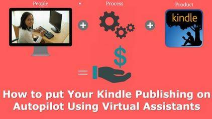 Amazon Kindle ebook Publishing - Using a Virtual Assistant
