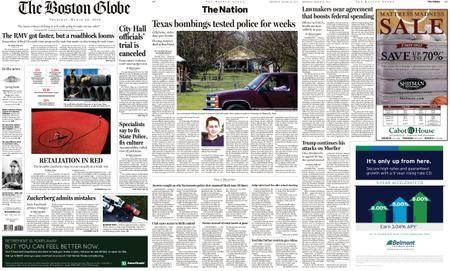 The Boston Globe – March 22, 2018