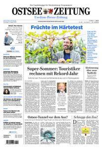 Ostsee Zeitung Wolgast - 21. August 2018
