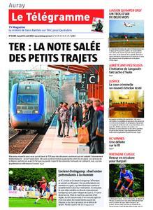 Le Télégramme Auray – 31 août 2019