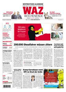 WAZ Westdeutsche Allgemeine Zeitung Oberhausen-Sterkrade - 10. November 2018