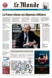 Le Monde du Vendredi 9 Février 2018