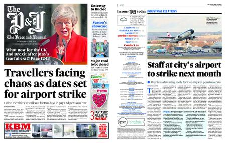 The Press and Journal Moray – May 25, 2019