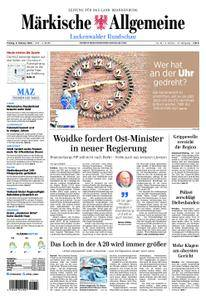 Märkische Allgemeine Luckenwalder Rundschau - 09. Februar 2018