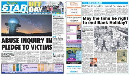 Shropshire Star Shrewsbury Edition – May 07, 2018