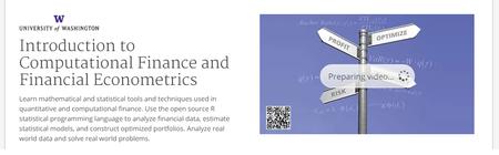 Coursera - Introduction to Computational Finance and Financial Econometrics