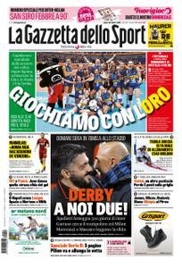 La Gazzetta dello Sport Roma – 20 ottobre 2018