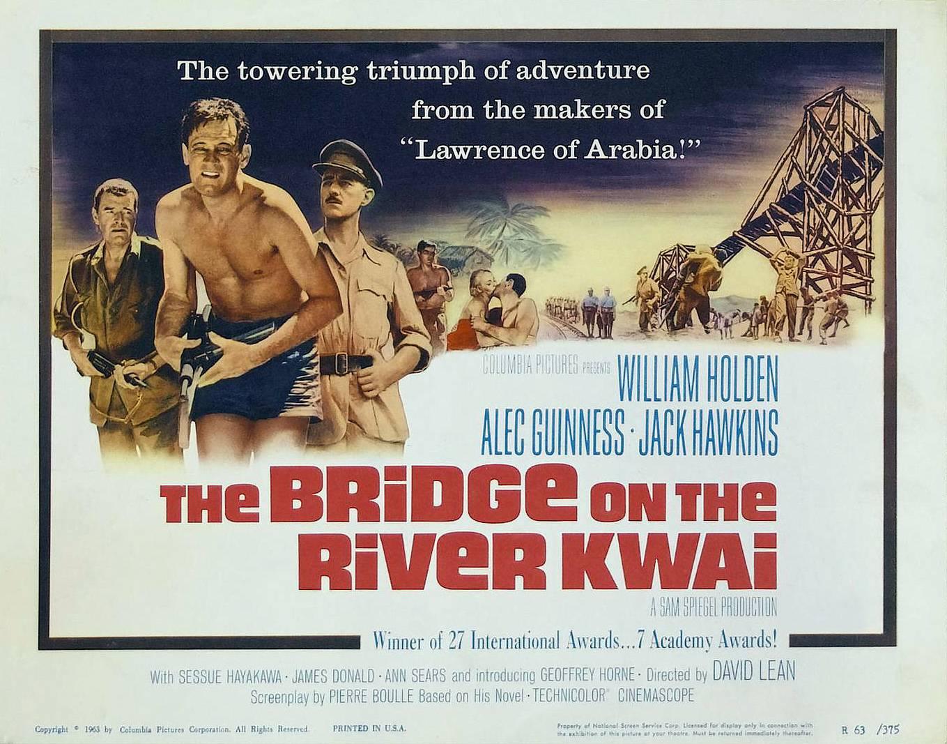 The Bridge on the River Kwai / Le Pont de la Rivière Kwai (1957)