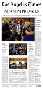 Los Angeles Times - 15 September 2021