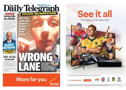The Daily Telegraph (Sydney) – August 13, 2019
