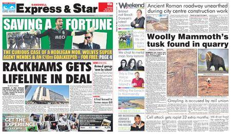 Express and Star Sandwell Edition – June 23, 2018