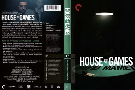 House of Games (1987) [The Criterion Collection #399]