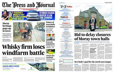 The Press and Journal Moray – March 28, 2018