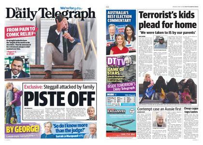 The Daily Telegraph (Sydney) – April 16, 2019