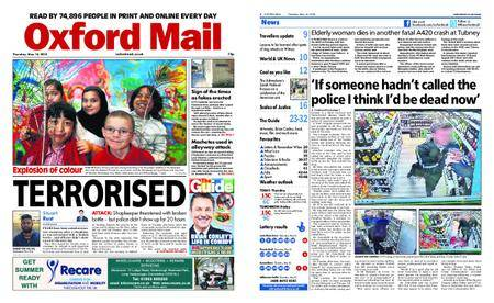 Oxford Mail – May 10, 2018