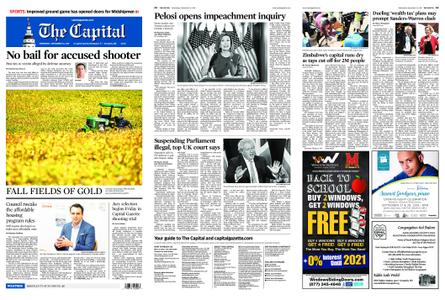 The Capital – September 25, 2019