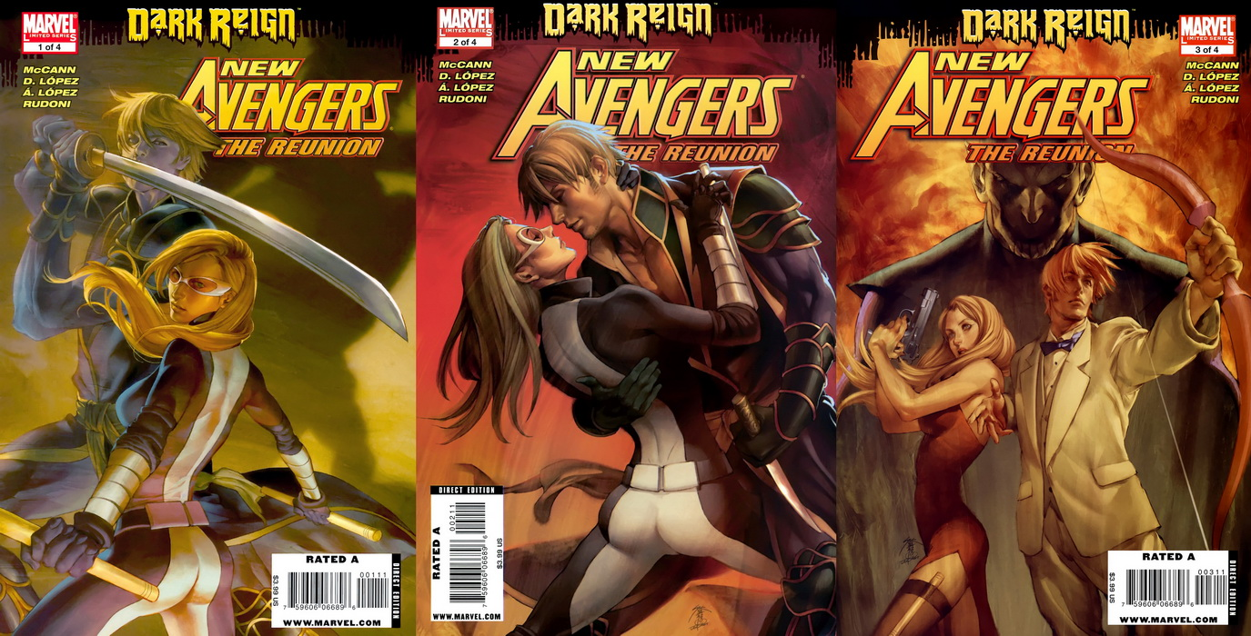 New Avengers - The Reunion ( 1 - 3 ) of 4 - Ongoing